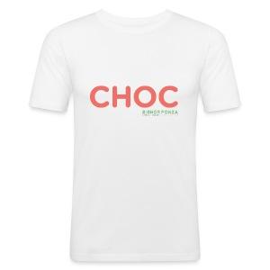 CHOC - Maglietta aderente da uomo