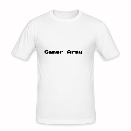 Gamer Army - Männer Slim Fit T-Shirt