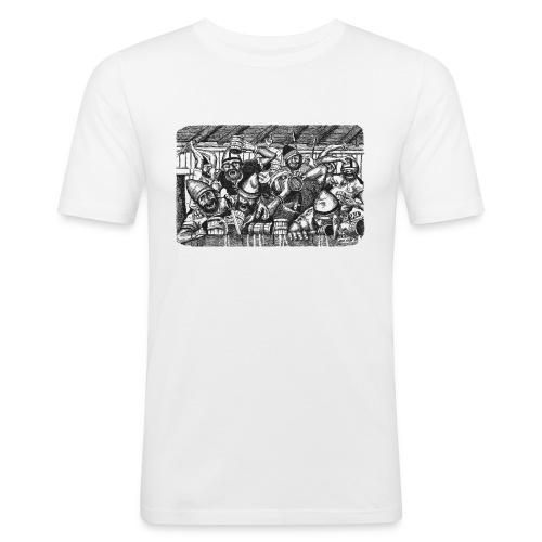 bärsärkar - Slim Fit T-shirt herr