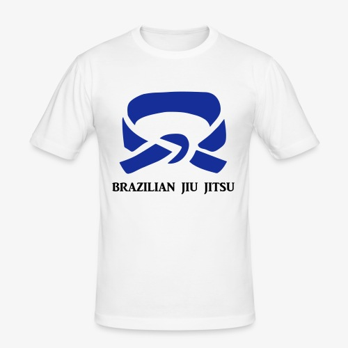 BJJ Blue Belt Clothing - Men's Slim Fit T-Shirt