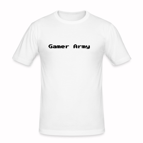 Gamer Army - Männer Slim Fit T-Shirt