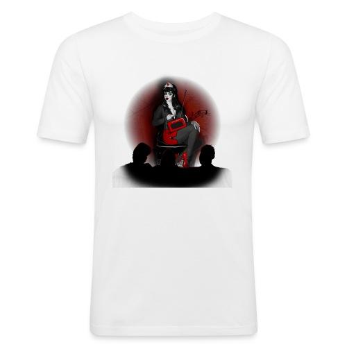 Musiktherapie - Männer Slim Fit T-Shirt