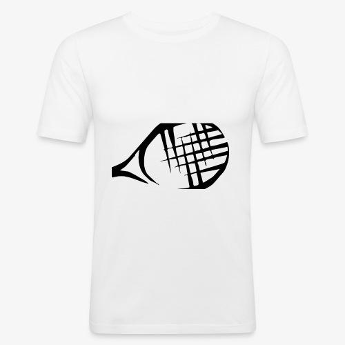 Tennisschläger - Männer Slim Fit T-Shirt