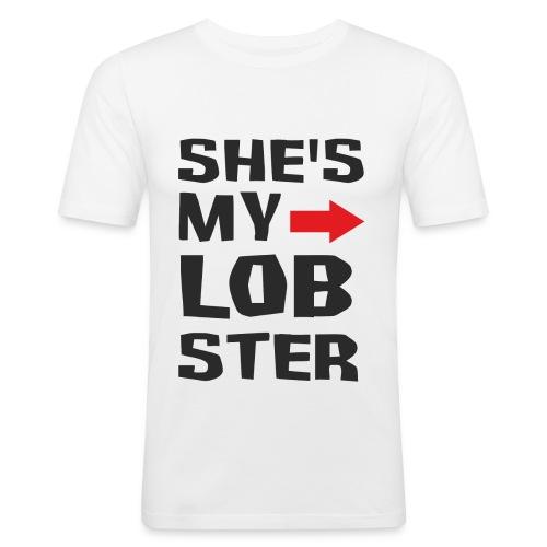 His Lobster - Obcisła koszulka męska