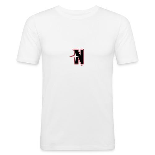 N Logo Standart - Männer Slim Fit T-Shirt