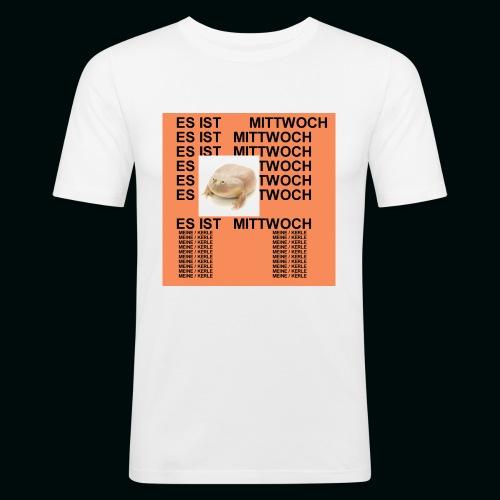 Leben des Mittwochs - Männer Slim Fit T-Shirt