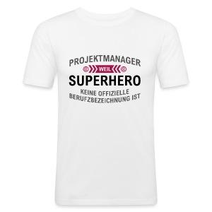 Projektmanger Spruch - Männer Slim Fit T-Shirt