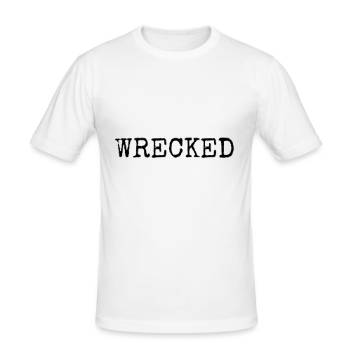 WRECKED - Men's Slim Fit T-Shirt