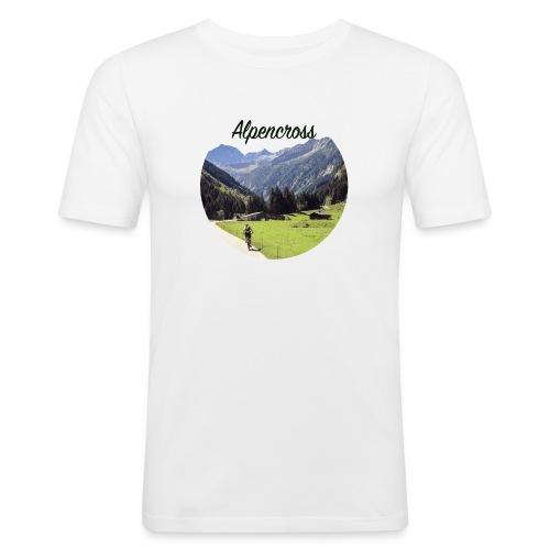 Alpencross - Männer Slim Fit T-Shirt