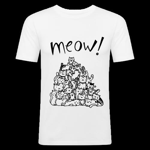 Meow! - Camiseta ajustada hombre