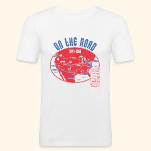 TShirtOntheRoad copy - Camiseta ajustada hombre