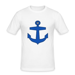 BLUE ANCHOR CLOTHES - Men's Slim Fit T-Shirt