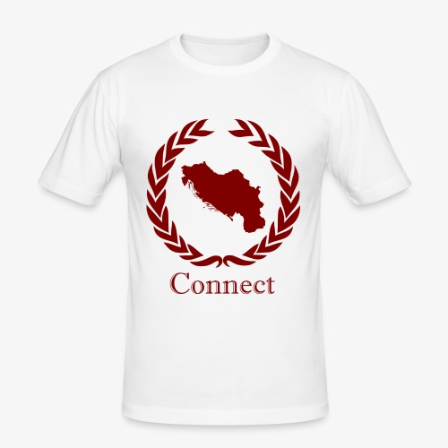 CONNECT COLLECTION LMTD. EDITION RED - Men's Slim Fit T-Shirt