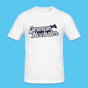 GermanNoobster - Männer Slim Fit T-Shirt