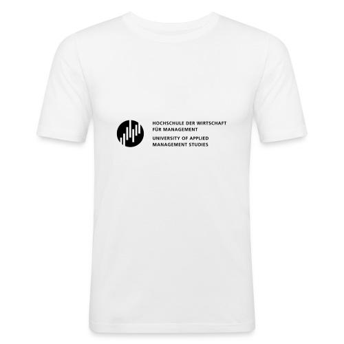 Logo_SW - Männer Slim Fit T-Shirt