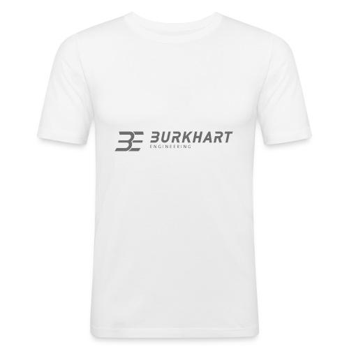 Burkhart Engineering_Logo - Männer Slim Fit T-Shirt