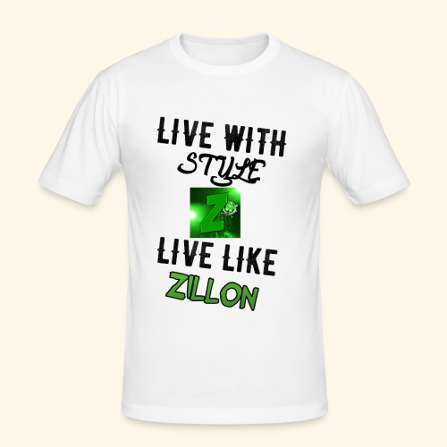 LWS LlZ - Camiseta ajustada hombre
