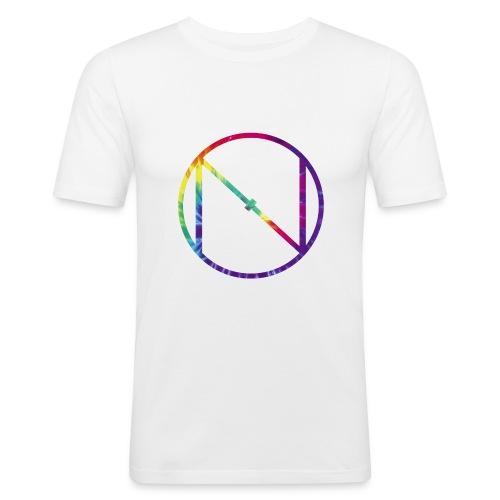 Tye Die Logo - Men's Slim Fit T-Shirt