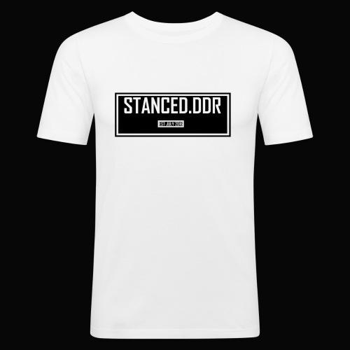 STANCED.DDR - Männer Slim Fit T-Shirt