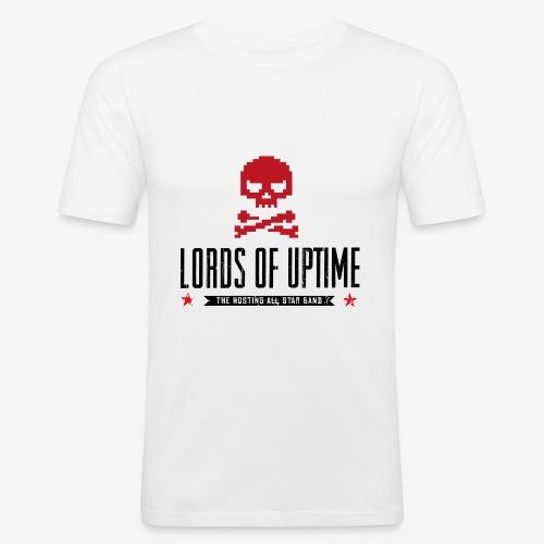 Lords of Uptime black - Männer Slim Fit T-Shirt