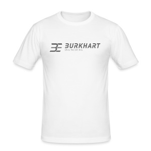 Burkhart Engineering_Logo - Männer Slim Fit T-Shirt