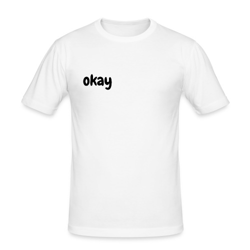 okay - Herre Slim Fit T-Shirt