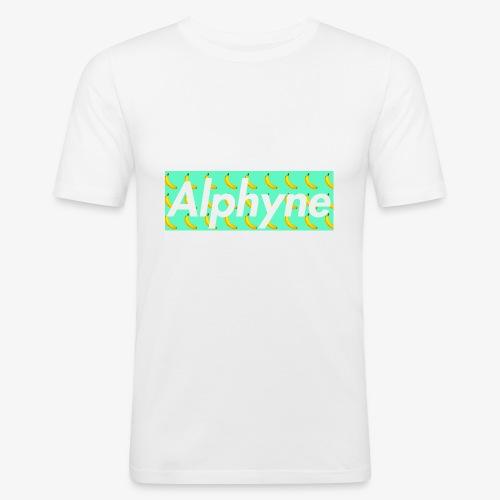 Alphyne - Maglietta aderente da uomo