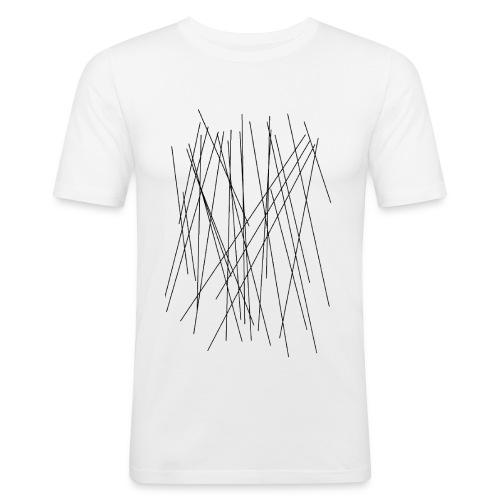 LINES - Männer Slim Fit T-Shirt