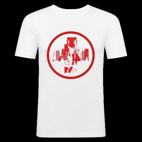 DEAD INARI RED - Men's Slim Fit T-Shirt