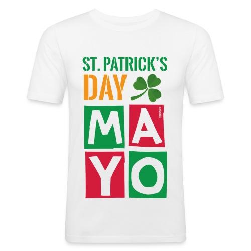 Celebrate St. Patrick's Day in Mayo - Men's Slim Fit T-Shirt