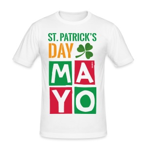 Celebrate St. Patrick's Day in Mayo - Men's Slim Fit T-Shirt