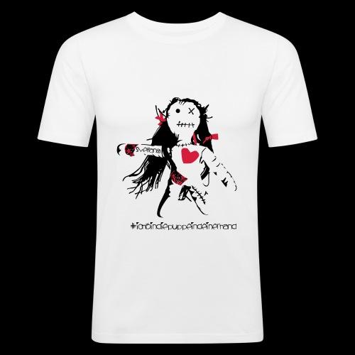 Svetlana #ichbindiepuppeindeinerhand - Männer Slim Fit T-Shirt