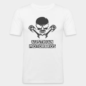 AustrianMotorBros - Männer Slim Fit T-Shirt