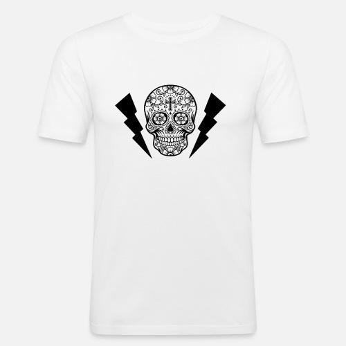 Caveira - T-shirt près du corps Homme