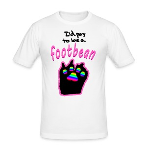I'd pay to be a footbean - Men's Slim Fit T-Shirt