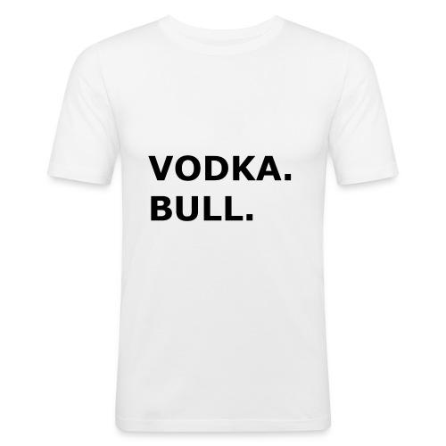 Vodka Bull Schwarz - Männer Slim Fit T-Shirt