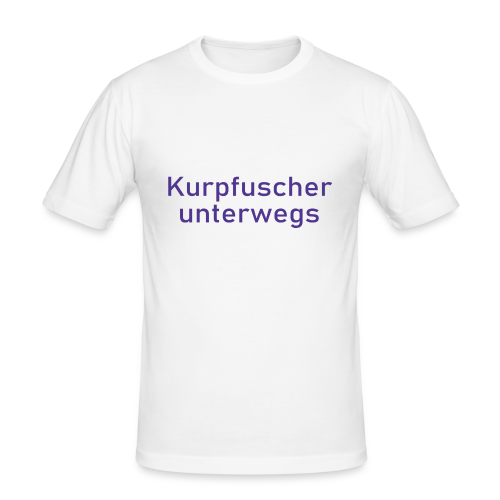 Kurpfuscher unterwegs - Das Robert Franz T-Shirt - Männer Slim Fit T-Shirt