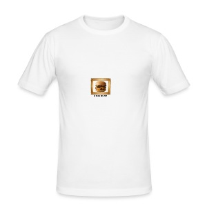 burger bun. - Men's Slim Fit T-Shirt