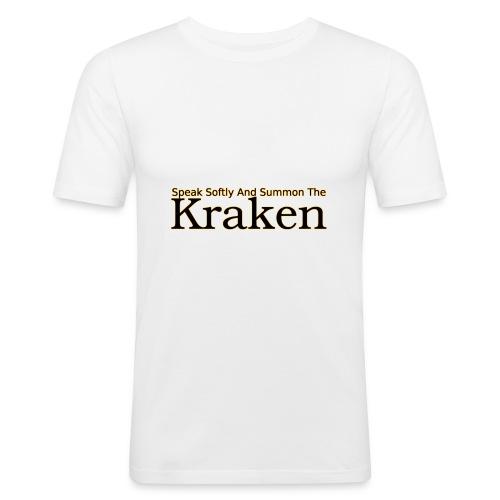 Speak softly and summon the kraken - Men's Slim Fit T-Shirt