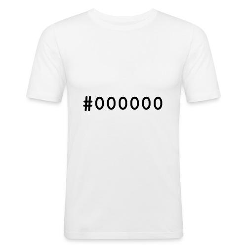000000 - T-shirt près du corps Homme