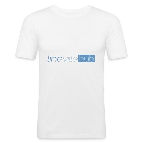 LINEVILLEHUB - Maglietta aderente da uomo