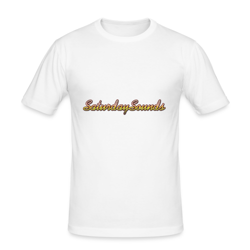 SaturdaySounds Hoes voor lPhone 5/5s. - slim fit T-shirt