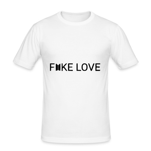 FAKE LOVE - Tee shirt près du corps Homme