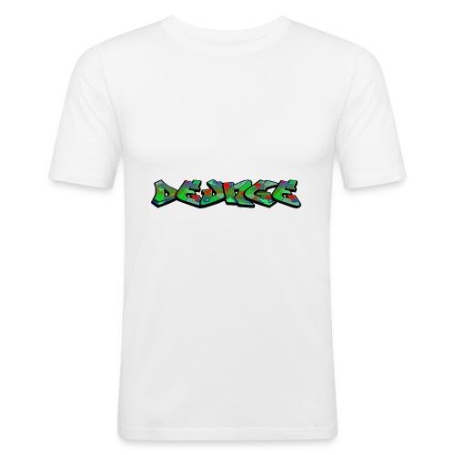 DE_UNGE_LOGO-png - Herre Slim Fit T-Shirt