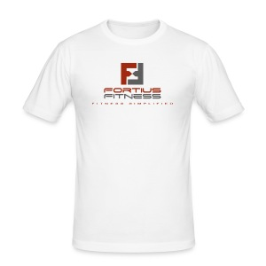 Fortius Fitness - Herre Slim Fit T-Shirt