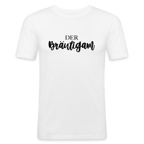Der Bräutigam - Männer Slim Fit T-Shirt