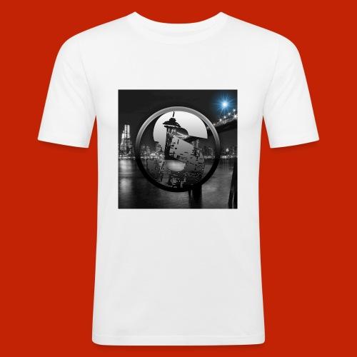 logodeksel - Slim Fit T-skjorte for menn