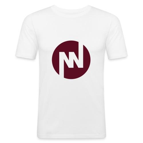 nniflogotype - Slim Fit T-shirt herr