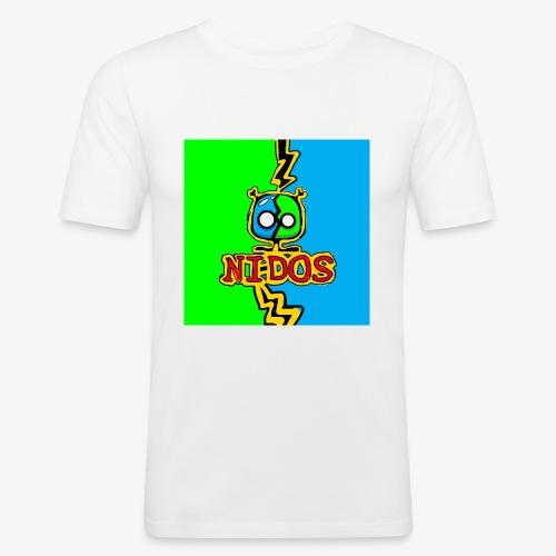 Nidos Sett2 - Slim Fit T-skjorte for menn