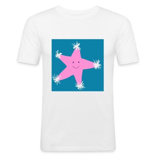 Christmas Star - Men's Slim Fit T-Shirt